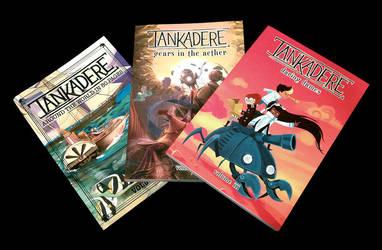 Tankadere Covers Volumes 1-3 by merumori
