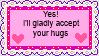 []F2U[] Hugs A Stamp by CandysCalibrator