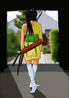 Mayumi the Ronin by SgtSareth