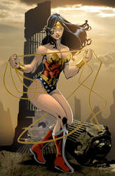 wonder woman color by gabos