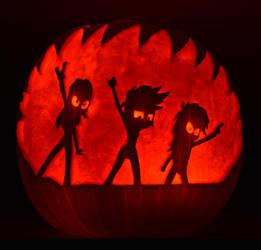 EqG Cutie Mark Crusaders Pumpkin by archiveit1