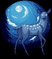 (FREE) moon deer by SqdPxl