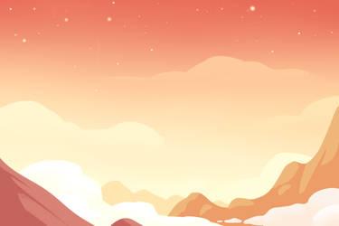 (FREE) beneath the tangerine sky by SqdPxl
