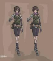 Girl Concept 003 by AspartameChild