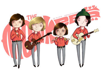 Monkees by CandleInTheWind666