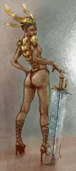 Sheera s Cousin In Colour by salvagion