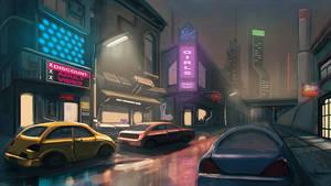 Cyberpunk Street by thiagoklafke