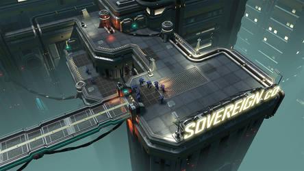 RTS Rooftop - UDK by thiagoklafke