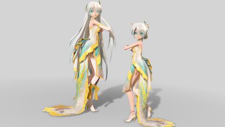 TDA China Dress Yan He Canary Ver1.00 DL!!! by samsink