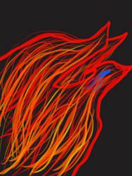 Neon phoenix by redghost187