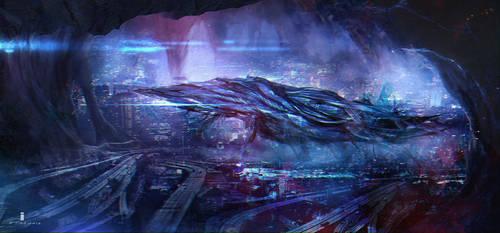 Cave city by iVANTAO