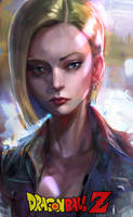 Android 18 by iVANTAO