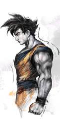 Goku by iVANTAO
