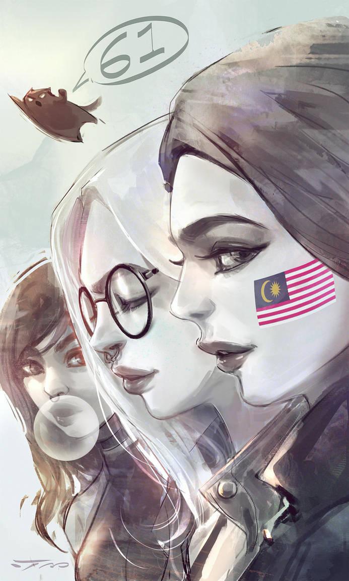 Anak Malaysia by iVANTAO
