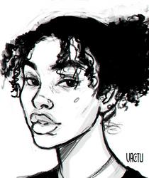 Chloe sketch by VactuART