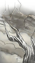 texture challenge with sketchbook pro by TorruellasArts