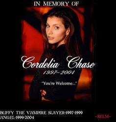 Cordelia Chase by relm-koriana