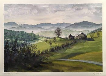 Appenzell bei Herisau by dominikgschwind