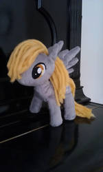 Derpy on a Piano - 9 inch version by DraglaPlushies