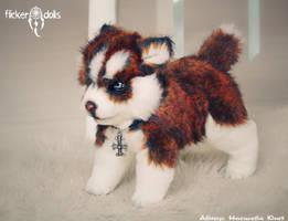 Nord (Red Husky puppy) by Flicker-Dolls