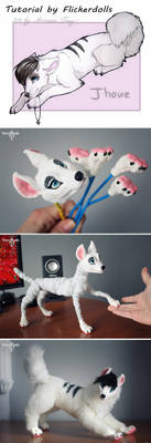 Tutorial - creating a doll. Jhoue by Flicker-Dolls