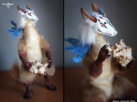 Domi beast by Flicker-Dolls