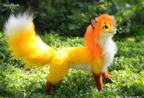 Beautiful Fox Oha by Flicker-Dolls