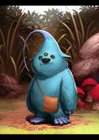 Si Monster Biru by AnggaSatriohadi