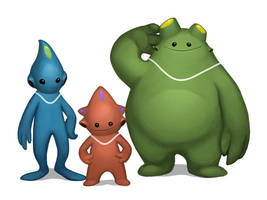 RGB Alien Bros by AnggaSatriohadi