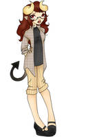 Erina  Daemon by LilithIrina