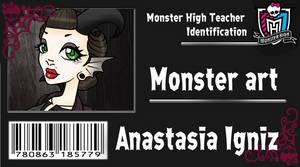 Annie's school ID by LilithIrina