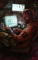 Retro Cyberpunk by Traaw