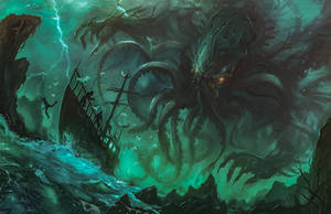 Cthulhu by Traaw