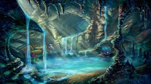Pearl cave by LissNoir