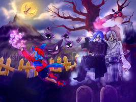 SuperCommission - Ghostly Picnic by JuneRoseXX