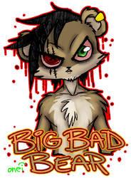 Big Bad Bear by JuneRoseXX