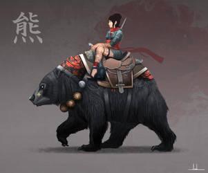 Bear Mount by Joshx87