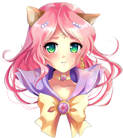 Commission: Sailor Elysium by Rurutia8