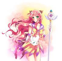 Commission: Sailor Elysium 2 by Rurutia8