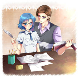 Taiki and Ami by Rurutia8