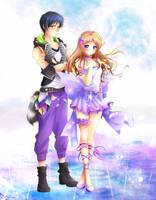 Commission: Sorano Shiraishi and Goushi Kaneshiro by Rurutia8
