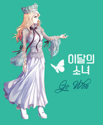 LOONA (Go Won) by Rurutia8