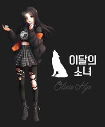 LOONA (Olivia Hye) by Rurutia8