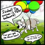 Jess And The Balloons by Whatupwidat