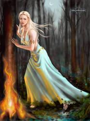 Artemis by geaspirito