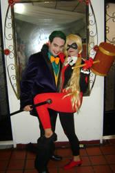 The Joker And Harley Guinn by hina590