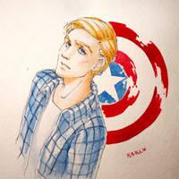 Steve Rogers by Ka-ren