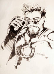 02 Iron Man by Ka-ren