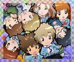 Digimon Adventure Tri ~ Petit Chosen Children by Fayrin-kun