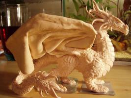 Sculpey dragon 2 by ravenoo